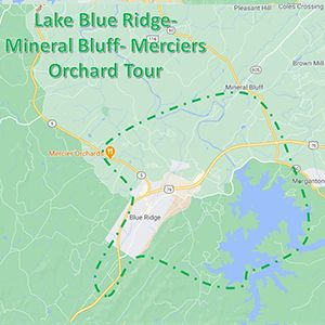 lake blue rdige bluff orchard tour