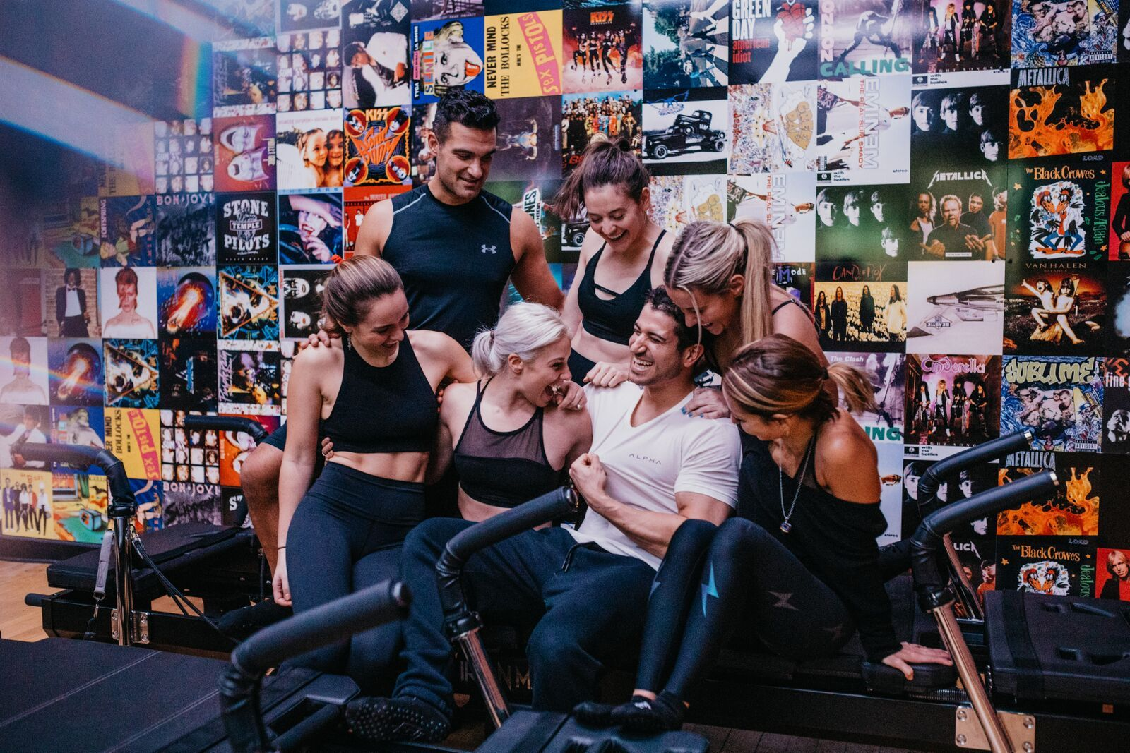 people happy after workout