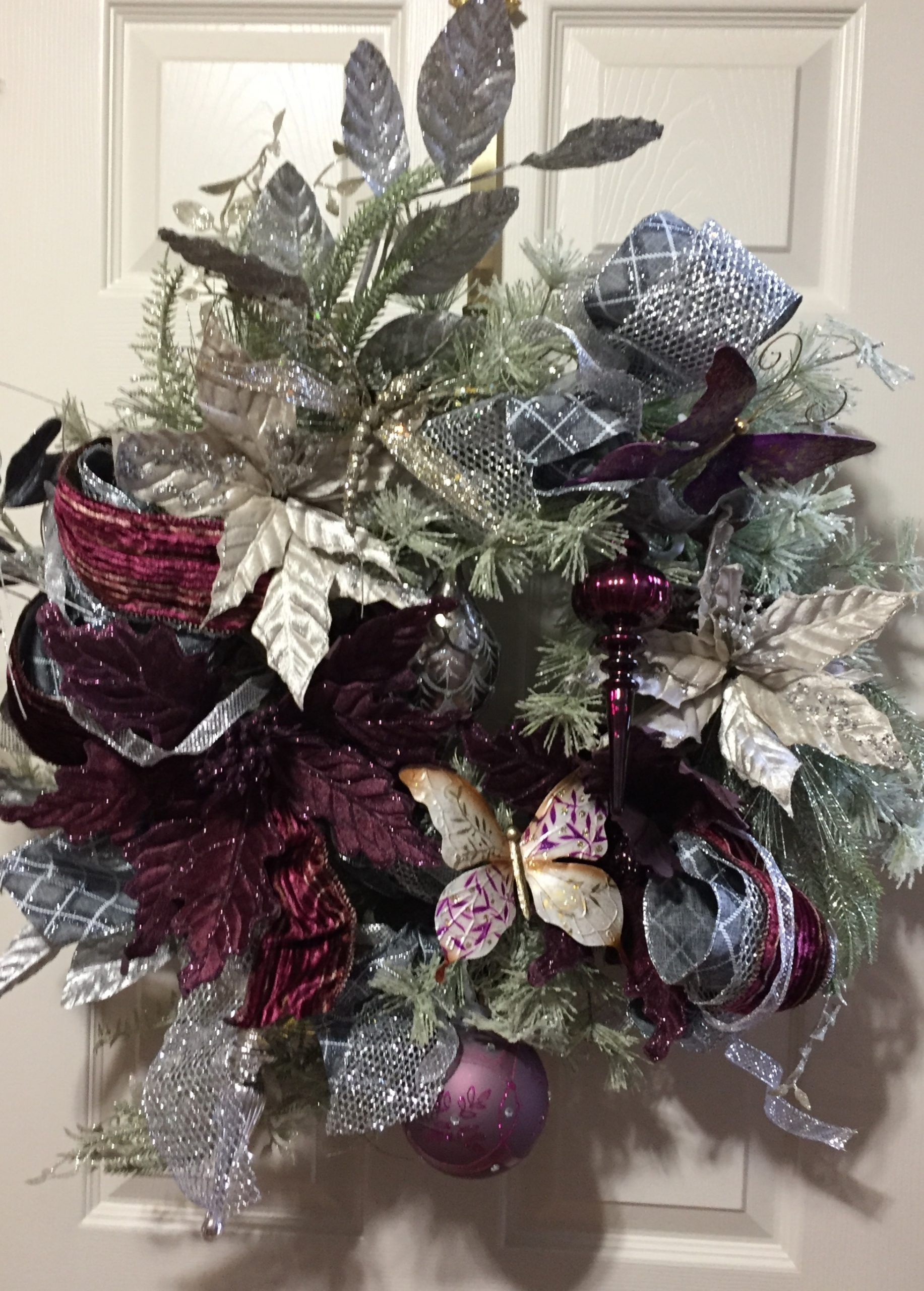 frosted reef violet decor