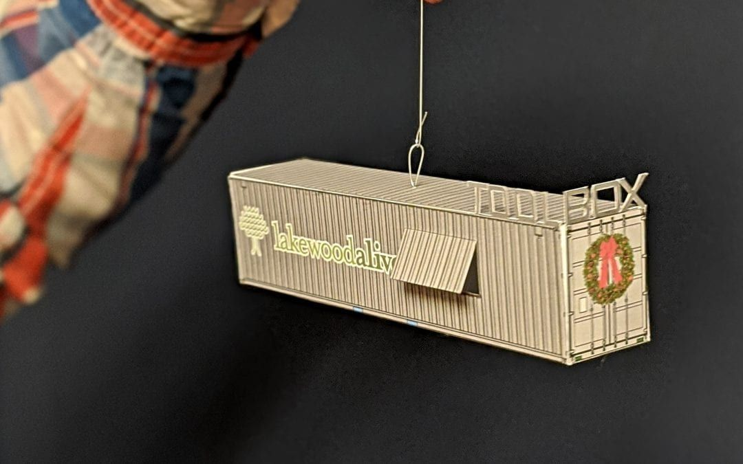 Lakewood Tool Box Ornament Launched Just in Time for Holiday Season