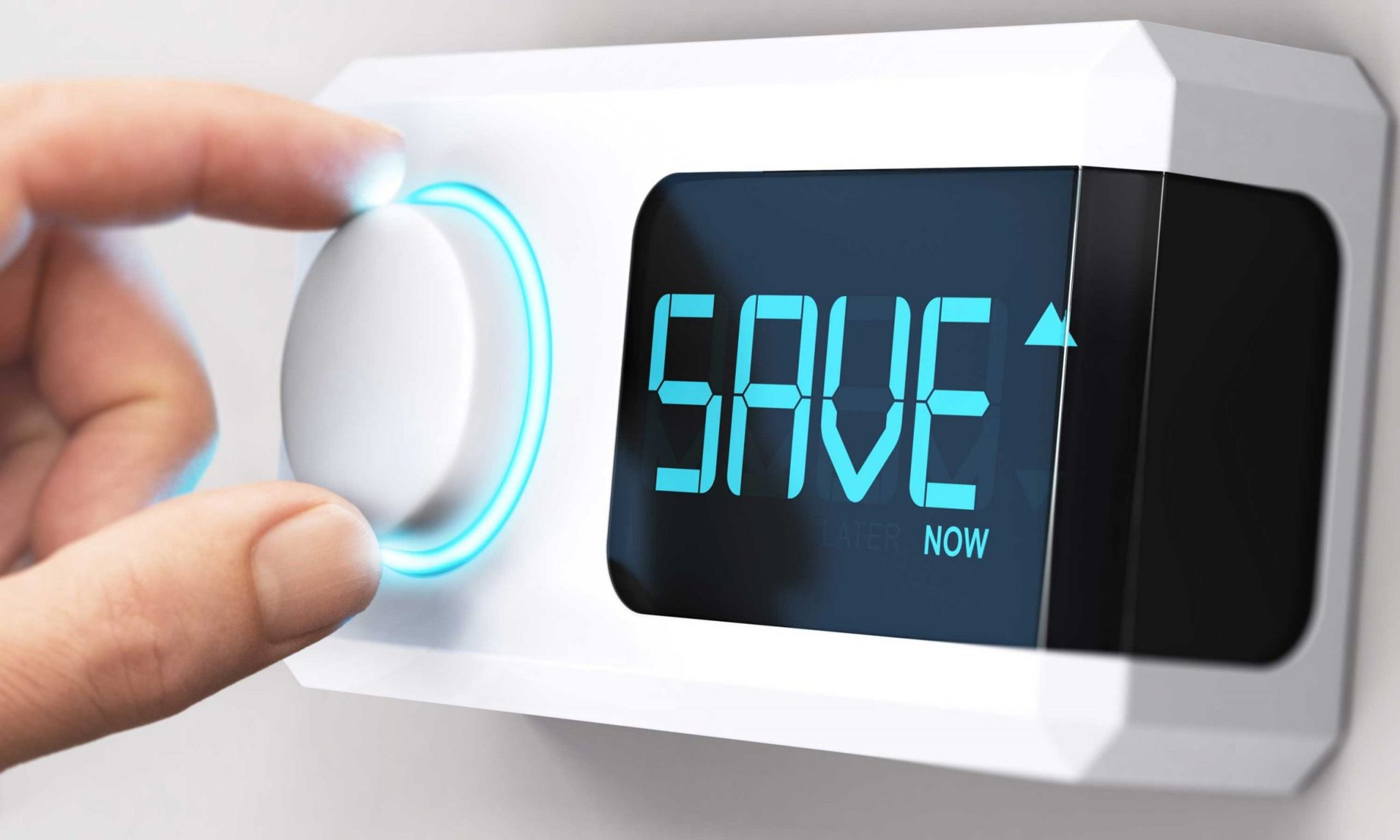 smart thermostat saving money and energy