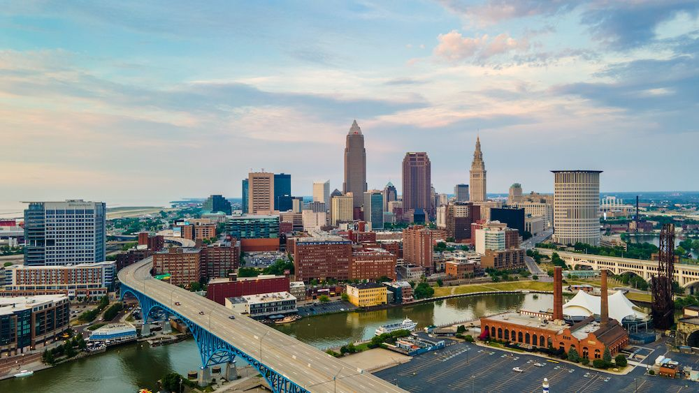 A view of Downtown Cleveland