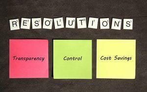 transparency control cost savings