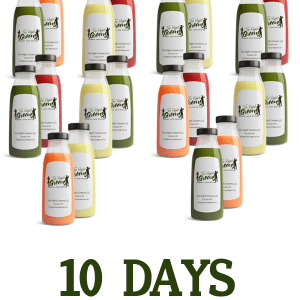 10 days of Juice, 32 oz per day. The Right Greens 678.262.6799 TheRightGreens@gmail.com