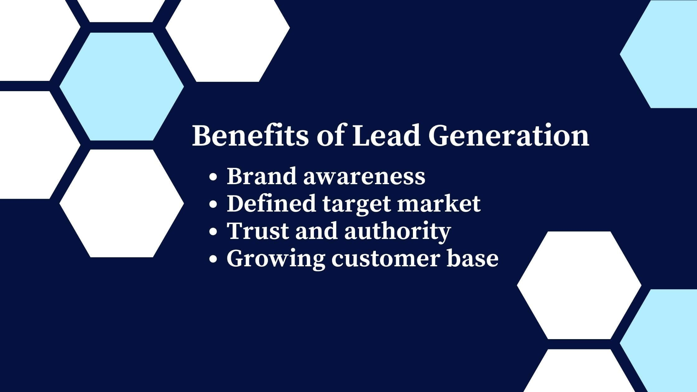 4 benefits of using an effective lead generation program