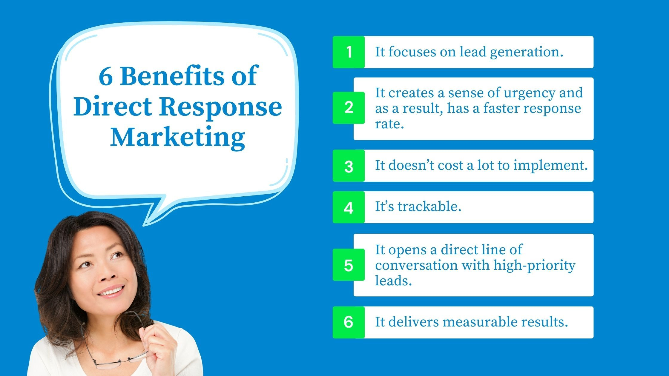 6 Reasons to Implement a Direct Response Marketing Campaign