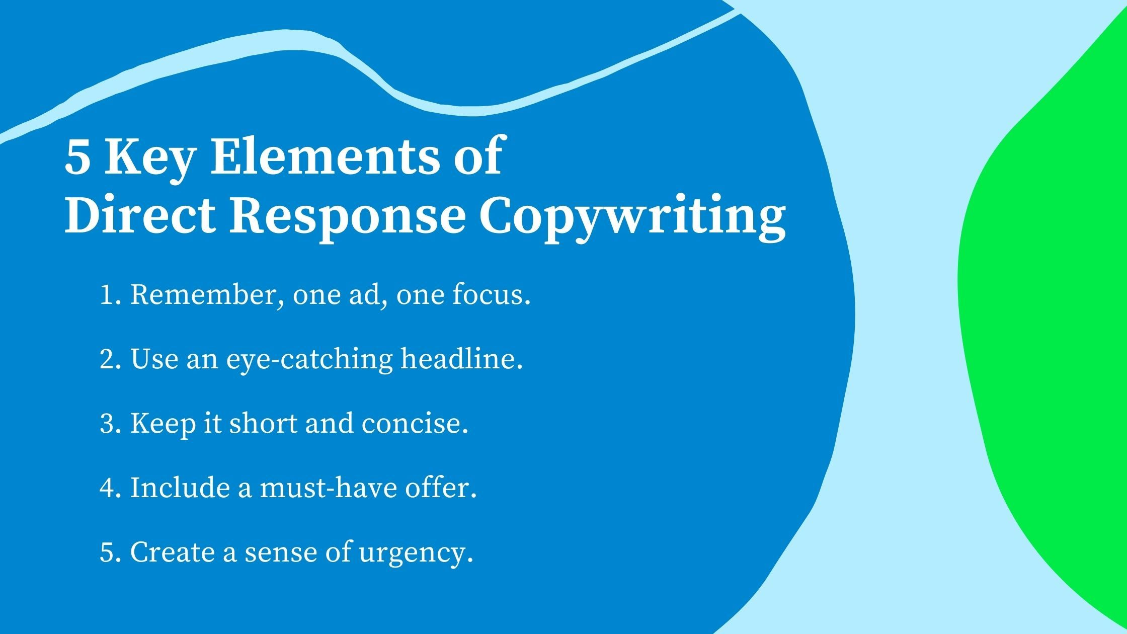 How To Write A Direct Response Marketing Campaign